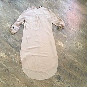 Aritzia Dresses - Wilfred silk shirt dress